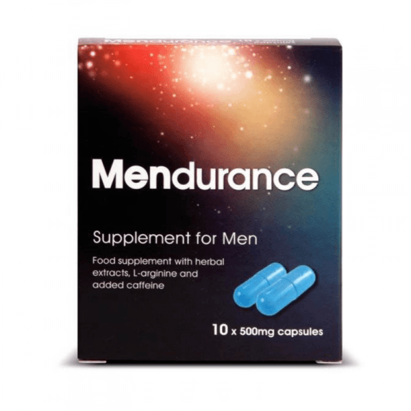 Mendurance Supplement For Men 10 Cap