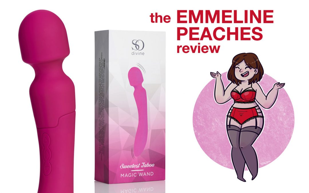 Emmeline Peaches reviews the So Divine Sweetest Taboo Magic Wand