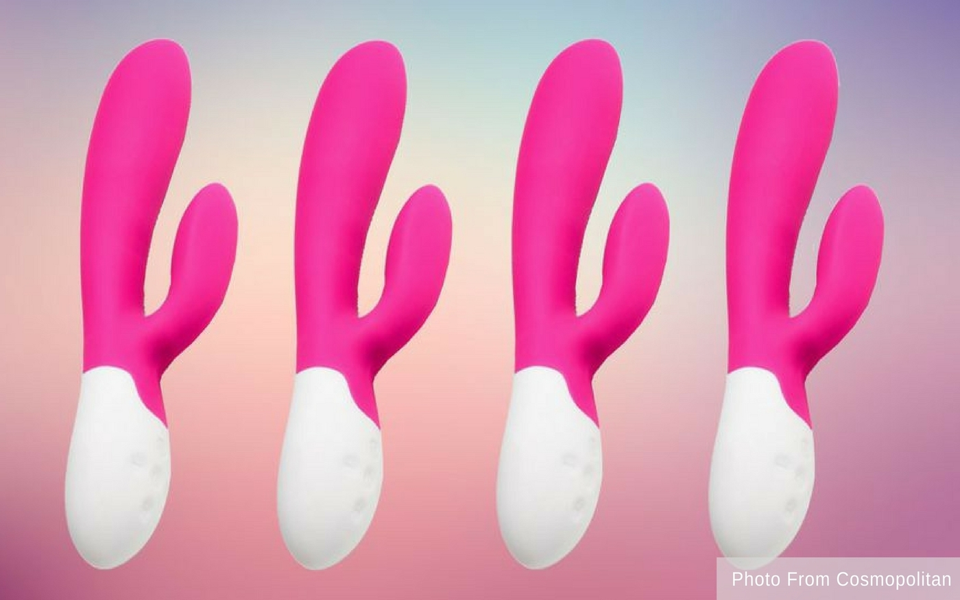 Cosmopolitan Reviews Our 'Kiss Kiss' Vibrating Rabbit