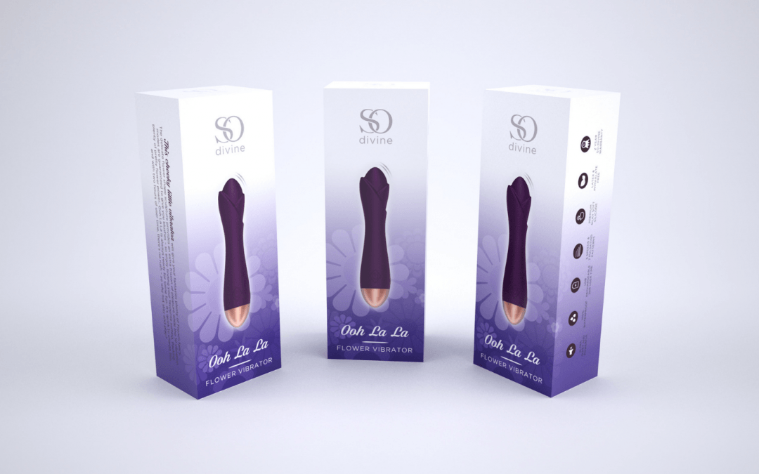 So Divine 'Ooh La La' Purple Flower Vibrator