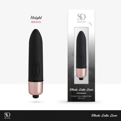 So Divine Whole Lotta Love Bullet Vibrator