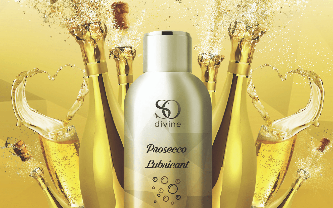 Our Prosecco Flavoured Lubricant Is Available In Tesco Stores