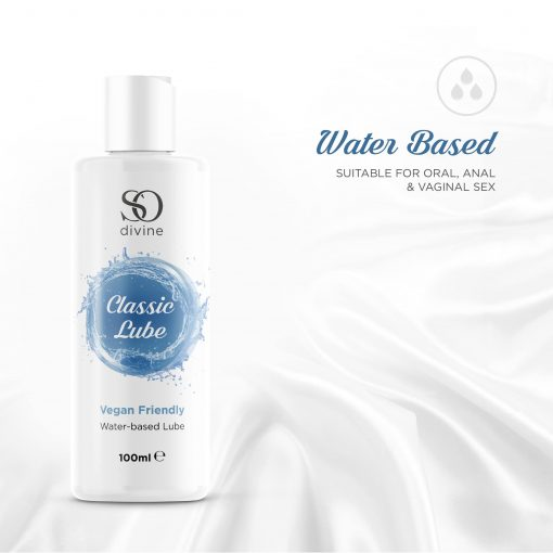 So Divine Classic Water-based Lubricant