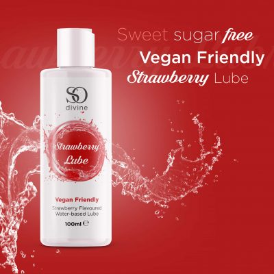 So Divine Strawberry Lubricant