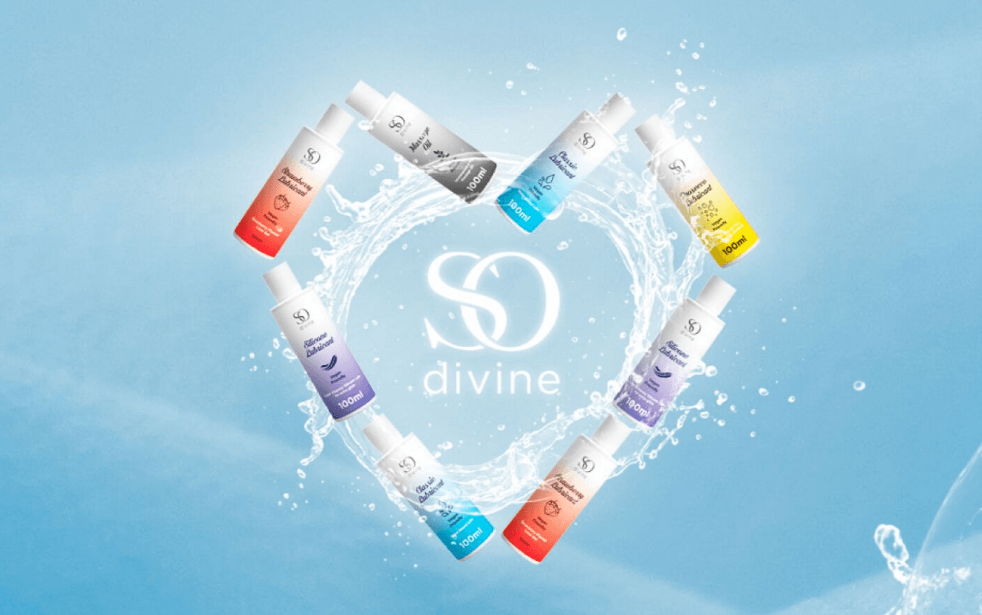 The So Divine Lube Range