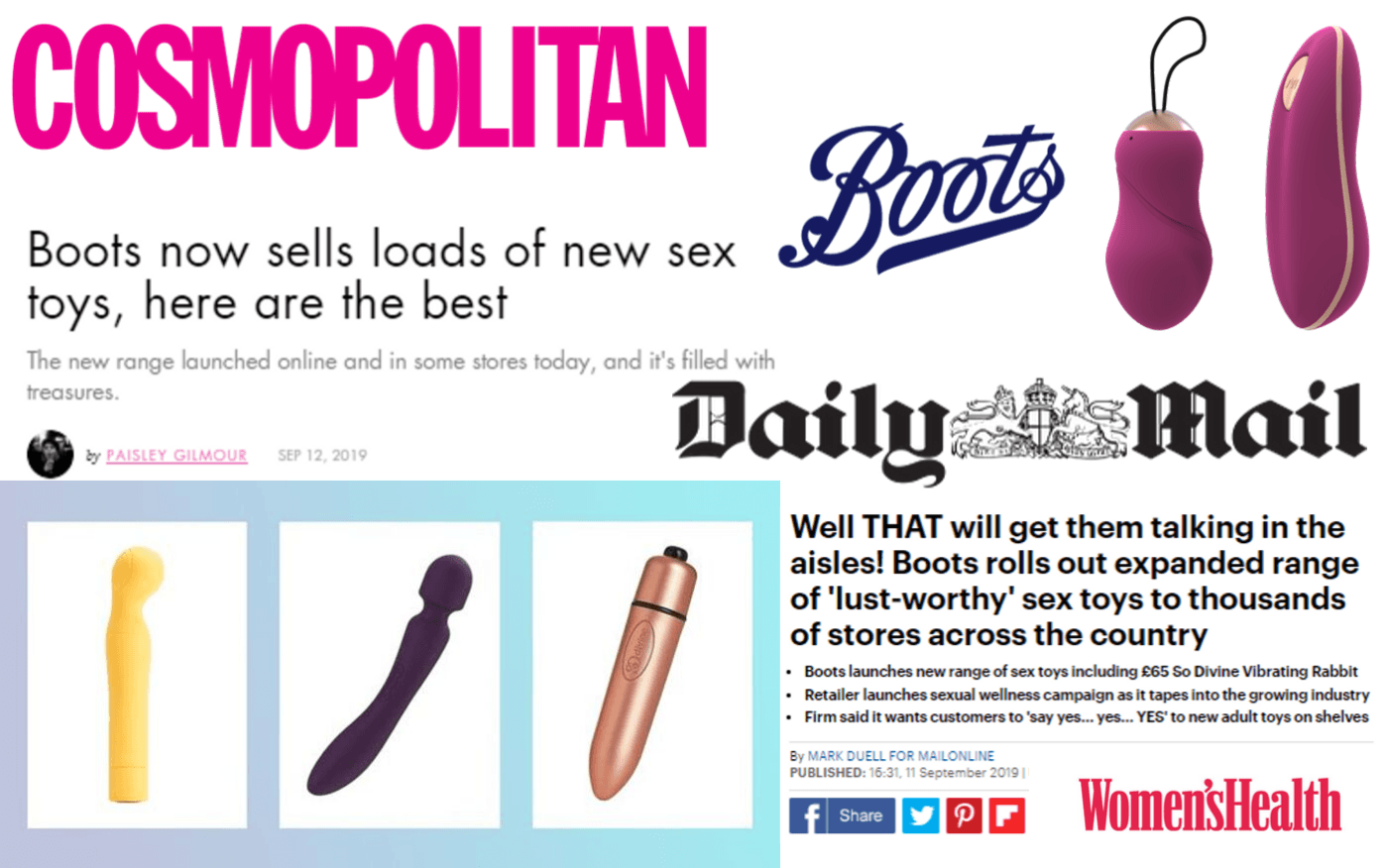 Boots Stores Are Now Stocking Sex Toys