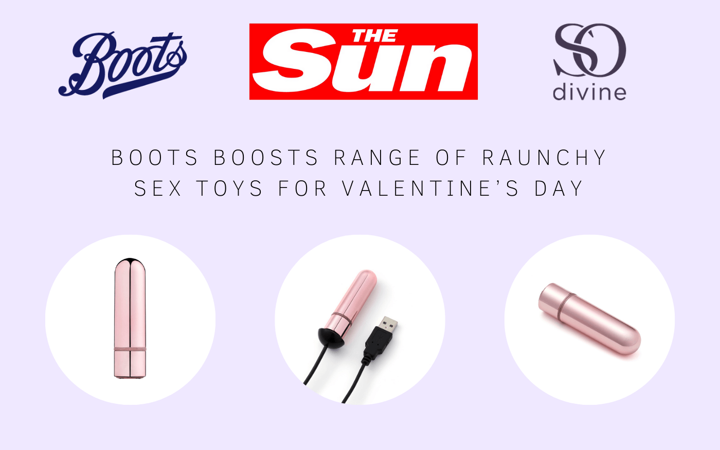 Boots boosts range of raunchy sex toys for Valentine's Day as couples look to get kinkier in the bedroom